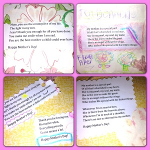 Mother's Day poetry bombs for all!